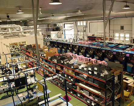 Facilities of Grupo Espacio Industrial