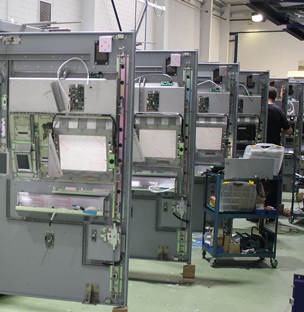 Servicios de fabricación e integración de Grupo Espacio Industrial