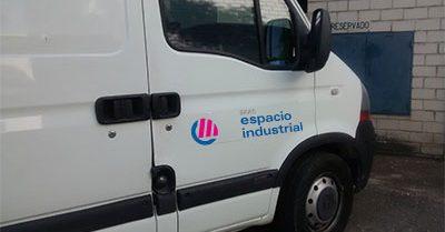 Vehicles of Grupo Espacio Industrial