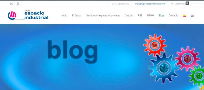 Grupo Espacio Industrial estrena blog