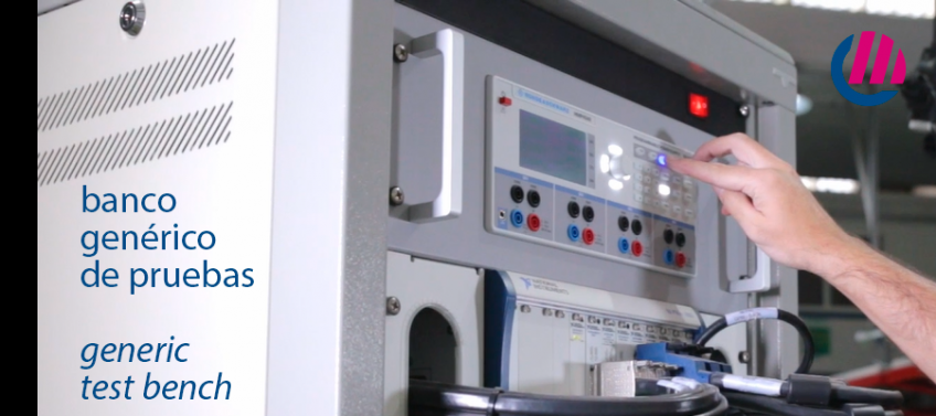Banco de pruebas de tarjetas electrónicas, de Grupo Espacio Industrial